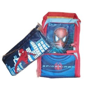 NEW SPIDERMAN Lunch Bag & Pencil Case